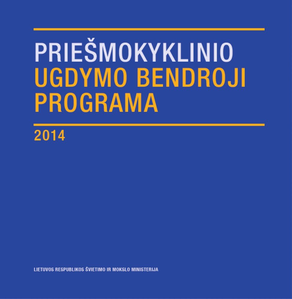 Bendroji programa